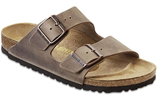 Birkenstock Unisex Arizona Tobacco Oiled Leather Sandals - 41 N EU/10-10.5 2A(N) US Women/8-8.5 2A(N) US Men by Birkenstock