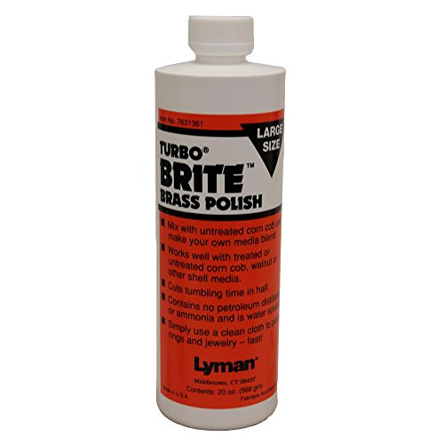 (Lyman Reloading Turbo Brite Brass Polish (20-Ounce))