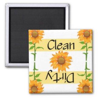 sunflower dishwasher magnet cover - 7