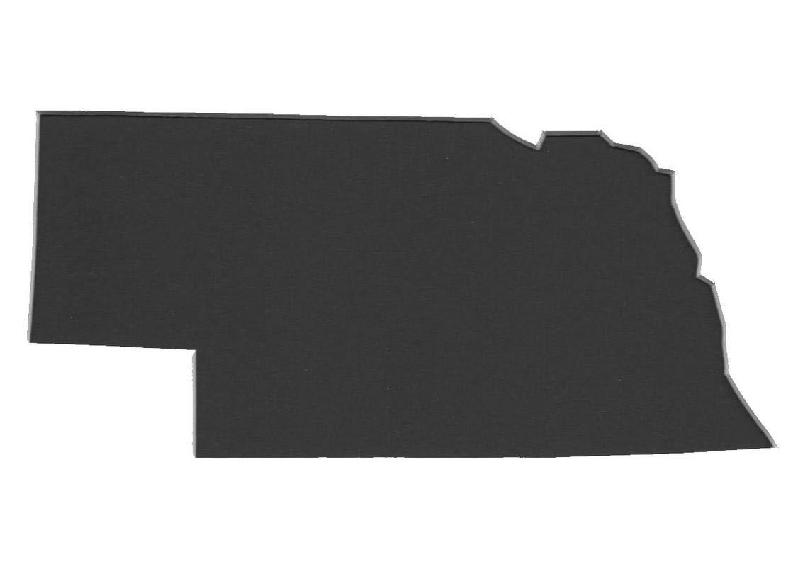 ネブラスカ州ステンシル 4枚セット 4枚組 プライマットボード 11x14 8x10 5x7 4x6 B07J2HCNJD