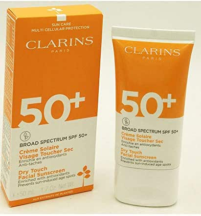 Clarins Dry Touch Facial Sunscreen SPF 50+ 1.7oz / 50ml