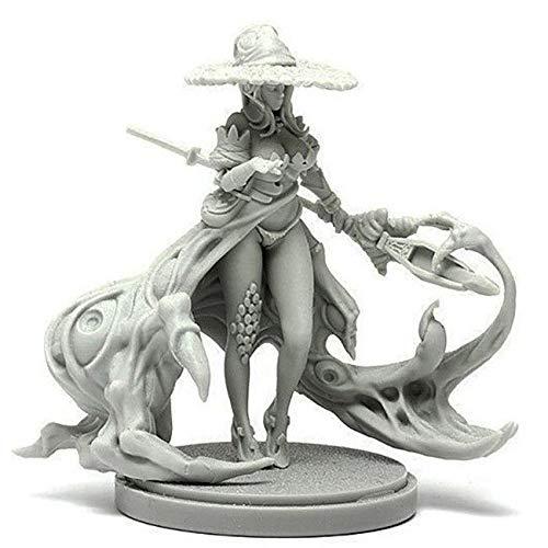 魔女の免責事項 2 女性 モンスターキングダムデスゲーム スケール モデルフィギュア