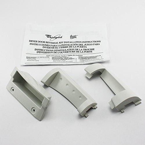Whirlpool Duet Door Reversal Kit - White Model: 8530070 Duet Door Reversal Kit