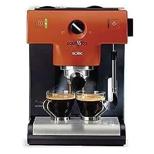 Solac CE4500, Naranja, 950/1150 W, 230 MB/s, 50 Hz - Máquina de café
