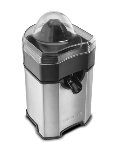 Citrus juicer. Cuisinart CCJ-500 Pulp Control Citrus Juicer, Brushed Stainless #juicereview