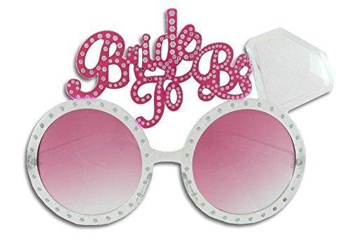 Bachelorette Bride to Be Diamond Ring Fun Glasses]()