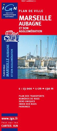 Marseille Aubagne (French Edition) IGN