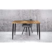 UMBUZÖ Solid Reclaimed Wood & Metal Desk