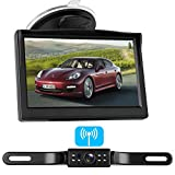 LeeKooLuu Digital Wireless Backup Camera System for Car/RV/Truck/Van/Trailer/Pickup with 5''Monitor Rear/Side/Front View Camera