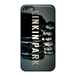 Shock Absorbent Hard Phone Cover For Iphone 6plus With Support Your Personal Customized Attractive Linkin Park Band Image EricHowe