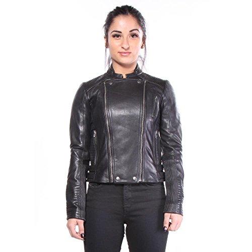 Lucky Brand Women's Biker Jacket, Lucky Black, Large by Lucky Brand