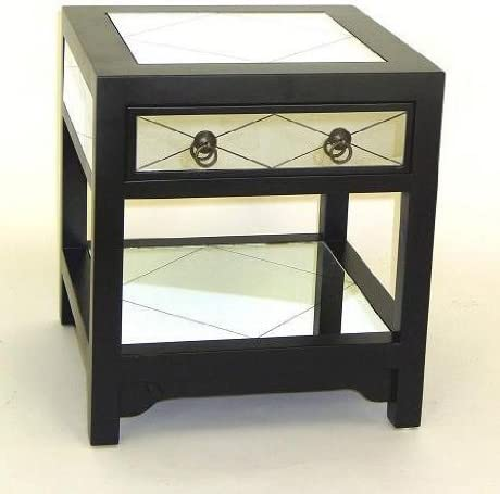 Mirror Table Square Coffee Table