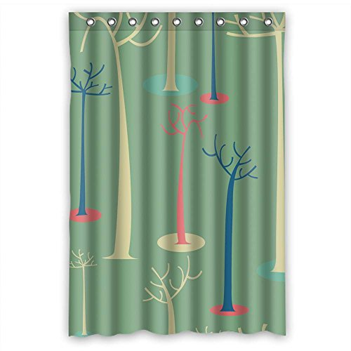 Eyeselect The Tree Bathroom Curtains Of Polyester Width X Height / 48 X 72 Inches / W H 120 By 180 Cm Decoration Gift For Couples Boys Relatives Custom. Durable (fabric)