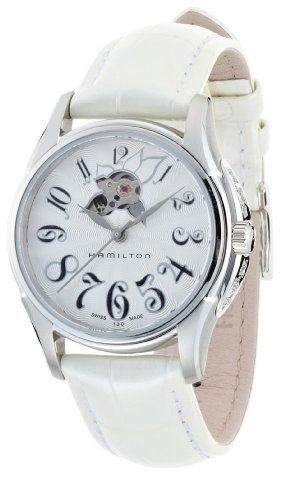 Hamilton White Pocket Watch - Hamilton Lady Automatic White Watch H32365313