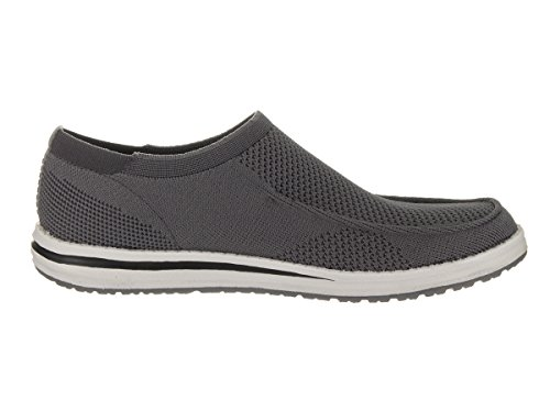 Skechers Mens Melson - Hosto Casual Shoe Grey