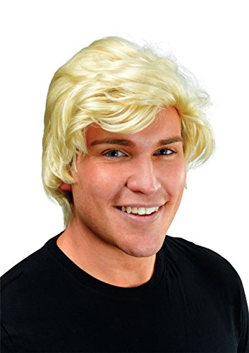 (Bristol Novelty BW466 Man's Blonde Side Parting Wig, One Size)