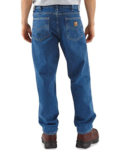 Tough Guy 2012 - Carhartt Men's Five Pocket Tapered Leg Jean, Stonewash, 34W x 34L