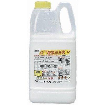 ニイタカ 厨房機器*設備の専用洗浄剤ゆで麺器洗浄剤P 1.8kg×4本 酸性タイプ   B01DZ31MLE