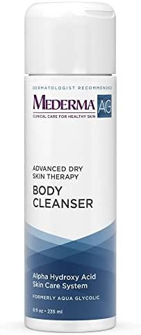 Mederma AG Advanced Dry Skin Therapy Body Cleanser 8 oz