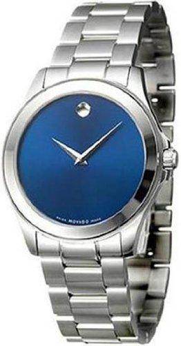 Movado, Junior Sport, Men's Watch, Stainless Steel Case, Stainless Steel Bracelet, Swiss Quartz (Battery-Powered), 0606116 ()