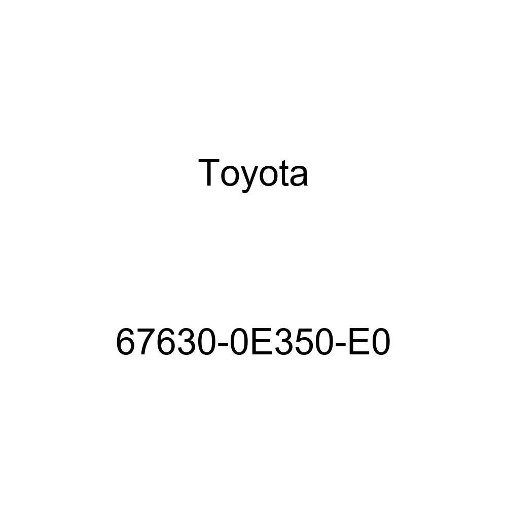 Genuine Toyota 67630-0E350-E0 Door Trim Board