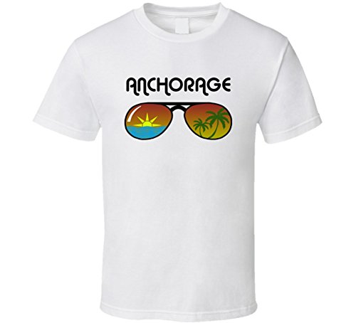 Anchorage Sunglasses Favorite City Fun In The Sun T Shirt 2XL - Shops Anchorage Glass