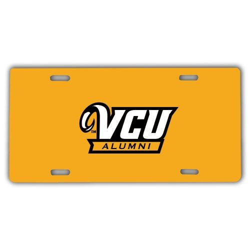 VCU License Plate 'Alumni'