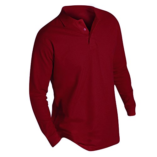 Polo Sols Ii Manches Longues Rouge Winter À Homme AnvxqCzRw