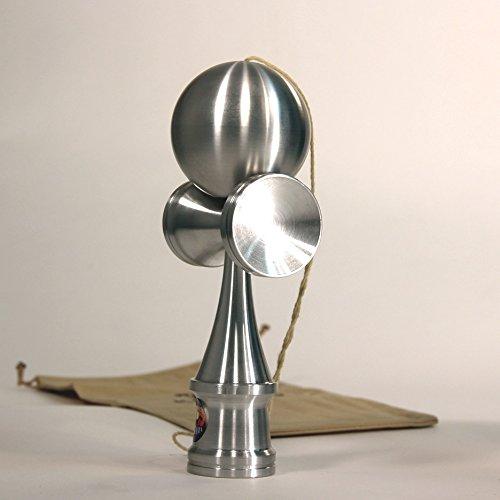 Bahama Kendama Amazing Aluminum Kendama - Full Sized - Raw Aluminum V.3