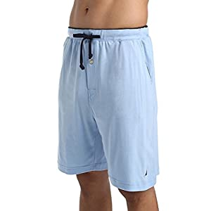 Nautica Men's Soft Knit Elastic Waistband Sleep Lounge Short