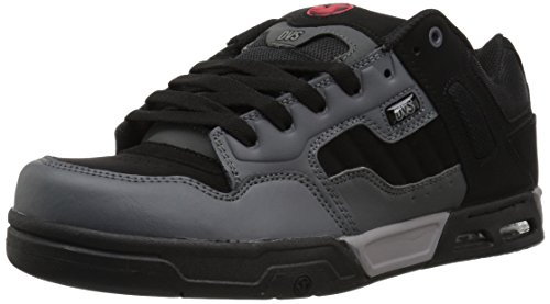 DVS Shoes Herren Enduro Heir Sneaker, Grau (Charcoal Black Nubuck)
