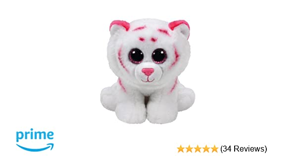 03987e4c7ee Amazon.com  Ty Tabor - Pink   White Tiger Regular  Toys   Games