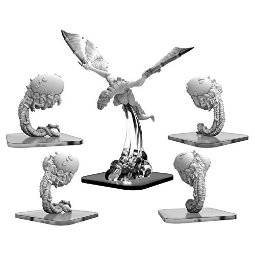 Monsterpocalypse: Lords of Cthul Snatchers & Hellion Units (White Metal)