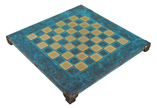 Manopoulos Blue Oxidized Chess Board – 1.375″ Squares