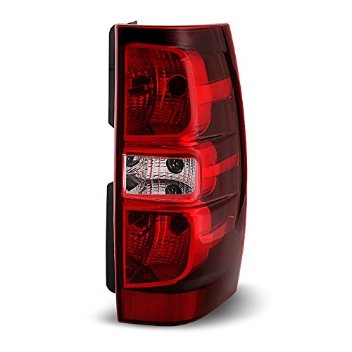 - ACANII - For 2007-2014 Chevy Suburban 1500 2500 Tahoe Rear Replacement Tail Light - Passenger Side Only