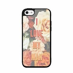 linJUN FENGI Love My Man- TPU RUBBER SILICONE Phone Case Back Cover iphone 6 plus 5.5 inch