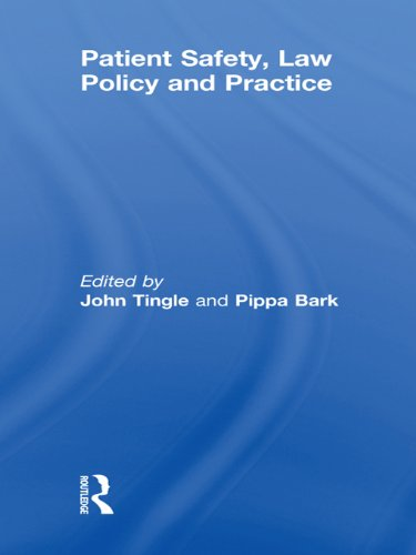 Patient Safety, Law Policy and Practice Pdf
