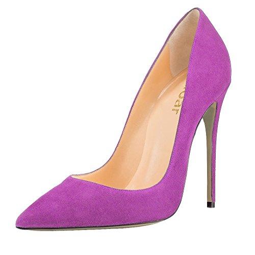 Guoar - Cerrado Mujer - Violett Samt