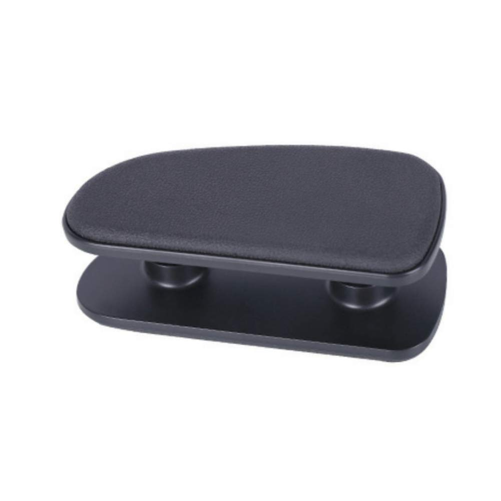 Universal Car Armrest Cushion,PU Leather Car Door Armrest Rest Pad,Adjustable Height Comfortable Left Side Support Pads,Passenger Rest Support Pad Breathable,Relieve Drivers Arm Fatigue
