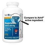 Basic Care Ibuprofen Tablets 200 mg, Pain