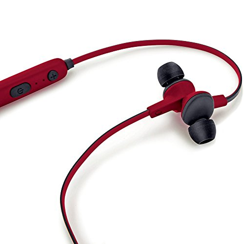 iBall Musi Sporty Wireless Sports Headset  Black and Red