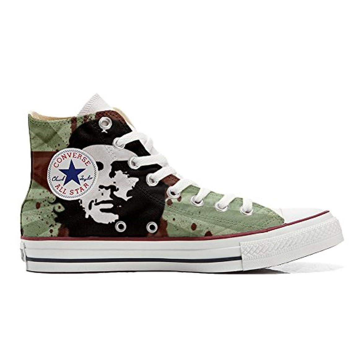 Scarpe Converse All Star Alte Personalizzate scarpe Artigianali Che Guevara