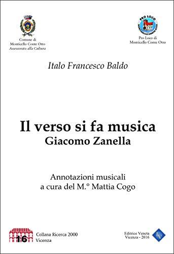 Il verso si fa musica: Giacomo Zanella (Italian - Zanella Italian