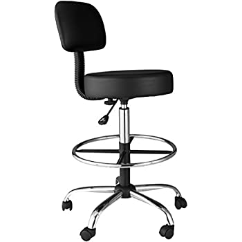 Amazon Com Onespace Medical Drafting Stool With Back