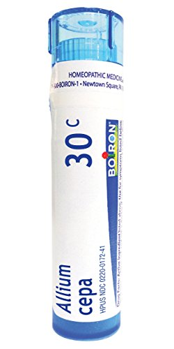 Boiron Allium Cepa 30C (Pack of 5), Homeopathic Medicine for Runny Nose