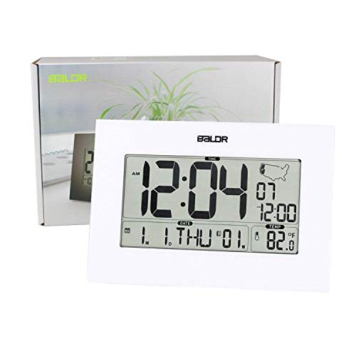 BALDR Wall Operated, Auto Large Indoor Gauge Date - Black