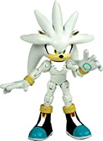 "Sonic 6"" Super Poser Silver Action Figure"