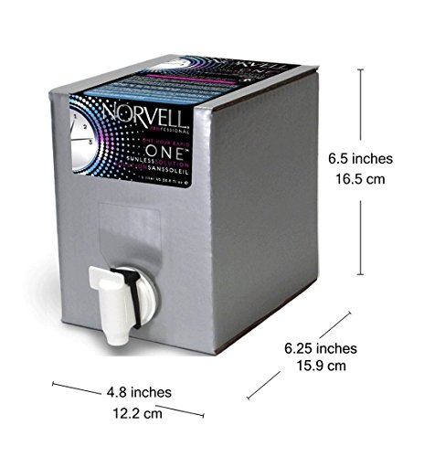 Norvell Premium Sunless Tanning Solution - One Hour Rapid, 1 Liter Box by Norvell (Image #5)