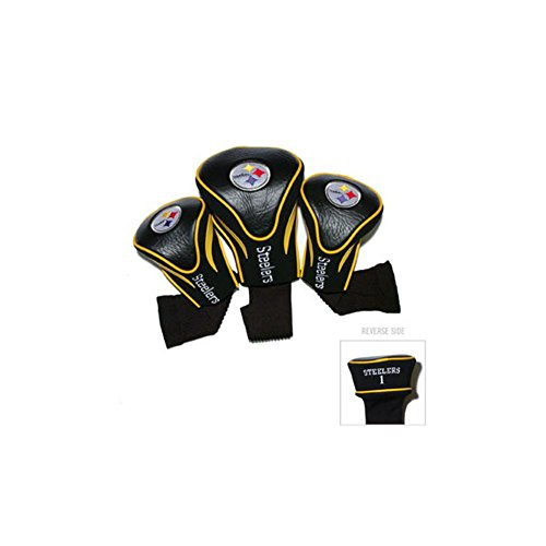 Pittsburgh Steelers Golf Club Head Covers 3 Pack by Team Golf by Team Golf