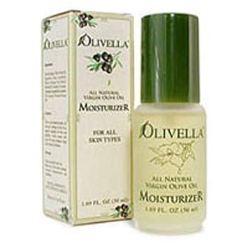 Olivella All Natural Virgin Olive Oil Moisturizer For All Skin Types 1.69 oz Pack of 2